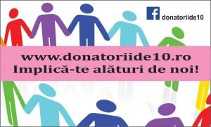 Donatorii de 10