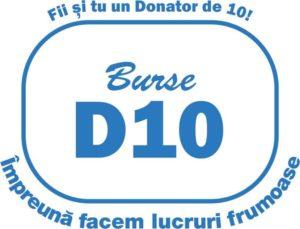 D10 logo Burse